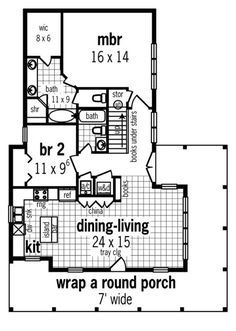 Plan No.487341 House Plans by WestHomePlanners.com