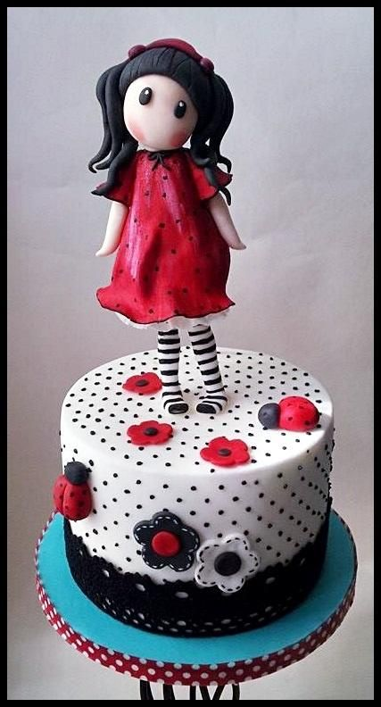 Cake Art By Suzanne : Gorjuss loves Ladybirds Cakes & Cake Decorating ~ Daily ...