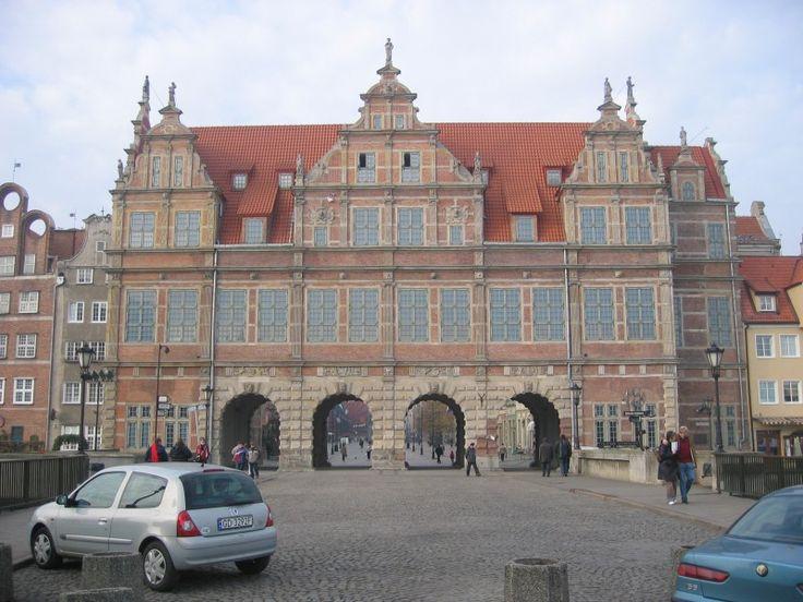 Zielona Brama w Gdańsku Gdańsk