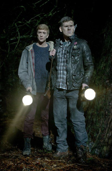 Luke Newberry and David Walmsley in In the Flesh (2013)