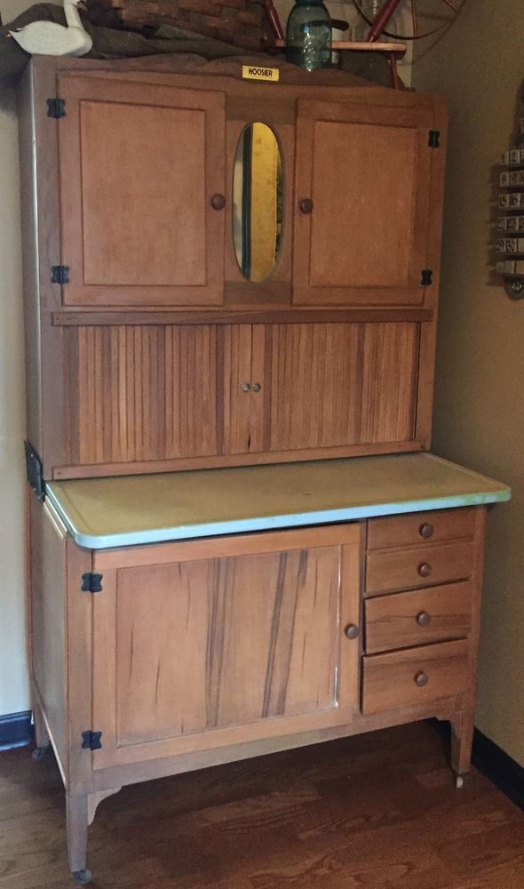kitchen cabinet drawers for sale hoosier kitchen cabinet porcelain mirror drawers estate 18711