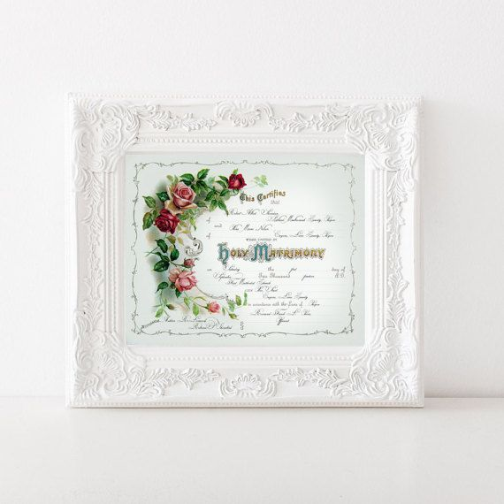 21 best templates images on Pinterest Marriage certificate - marriage certificate template