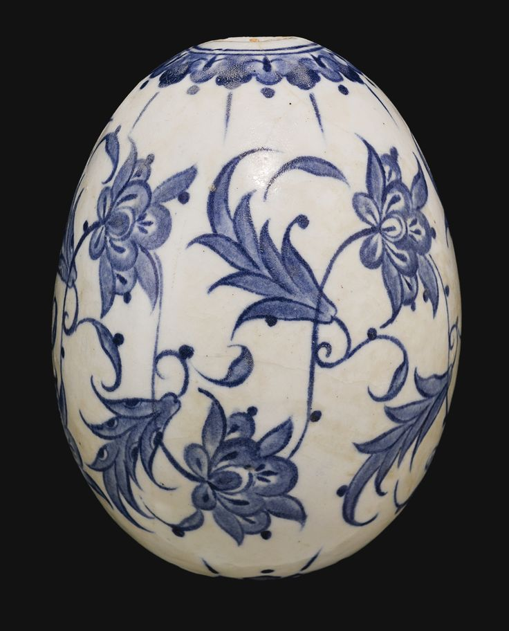 A rare Iznik blue and white hanging ornament, Turkey, circa 1560 | Lot | Sotheby's
