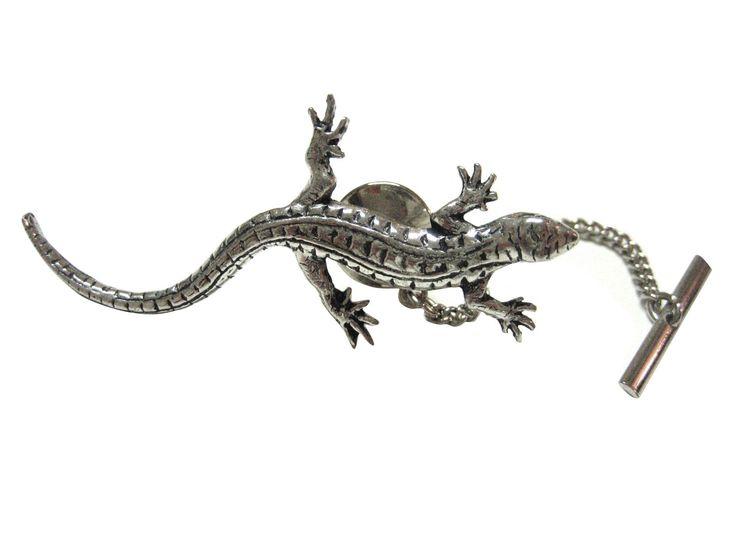 Large Lizard Gecko Tie Tack