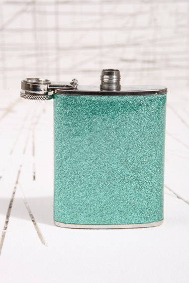 Gitter Mint Hip Flask at Urban Outfitters