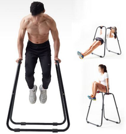 Multipurpose Push-Up Bracket Metal Detachable Horizontal Bar Body Building Parallel Bar Muscle Training Fitness Equipment