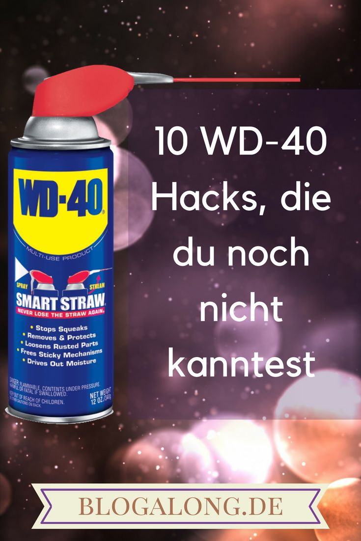 10 WD-40 Hacks, die du noch nicht kanntest