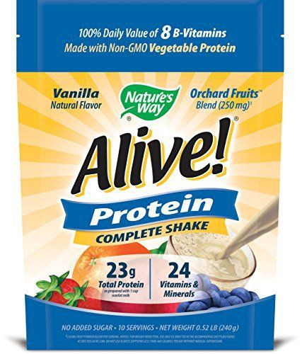 Nature's Way Alive! Protein Complete Shake, Vanilla, 0.52 Pound //Price: $13.48 & FREE Shipping //     #hashtag1