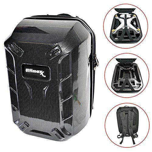Hard-shell Backpack for DJI Phantom Series Quadcopter Drones, Phantom 3 Professional, Phantom 1, Phantom 2, DJI Phantom 2 Vision Plus, Phantom 3 Advanced, Phantom 3 Standard -- Want to know more, click on the image.