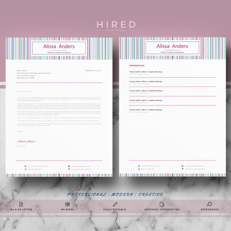 Best Modern Professional  Elegant Resume Templates Images On