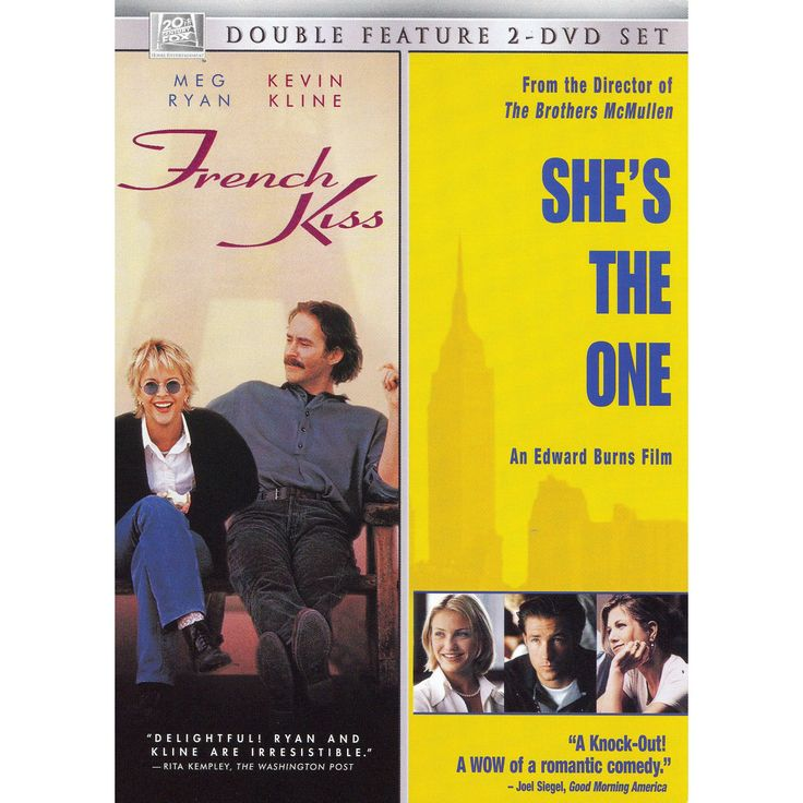 French Kiss/She's the One (2 Discs) (dvd_video)