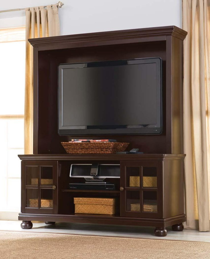 Espresso Tv Stand With Hutch, For Tvs Up To Better Homes And Gardens Media  Storage Entertainment Center
