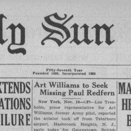 The Cornell Daily Sun 11 November 1936 — The Cornell Daily Sun