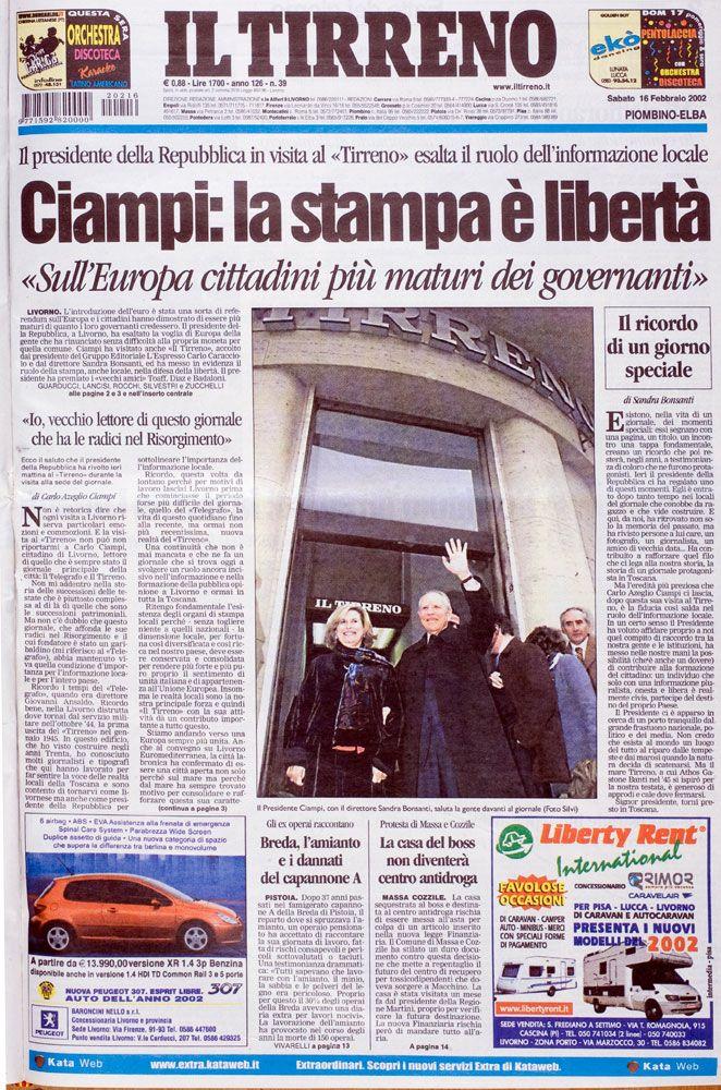 16 febbraio 2002