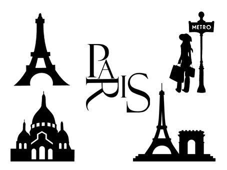 Paris/Tour Eiffel Fichiers gratuits (SILHOUETTE STUDIO SVG PNG). Téléchargez ces motifs vectoriels et découpez-les avec votre Caméo/Portrait/Cricut/ScanNCut