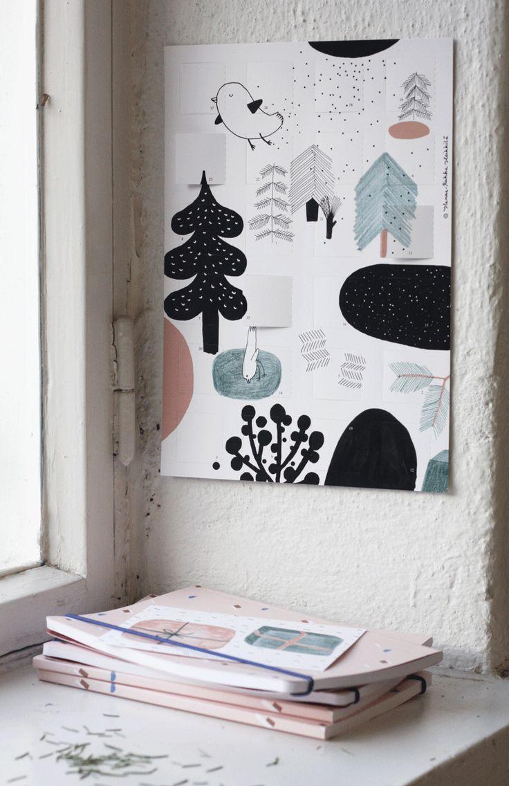 Taikametsä advent calendar | Hanna-Riikka Heikkilä