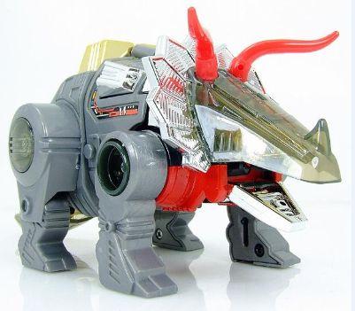 KO роботы классические игрушки для мальчиков Трицератопса Dinobots Шлака фигурку подарок на день рождения в коробке G10007