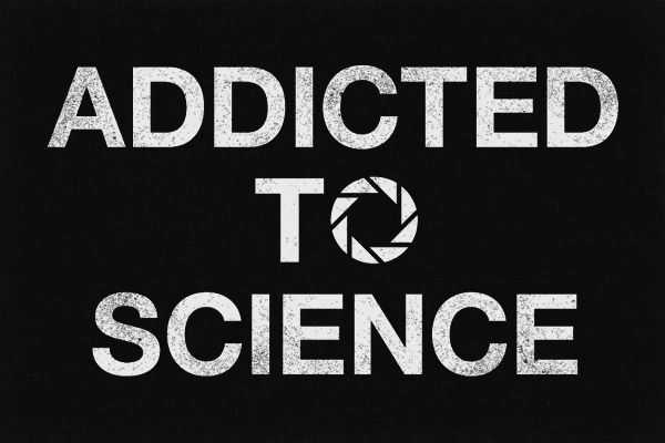 Addicted to science - New funny tshirt from me up at Neatoshop! Portal and geek inspired :)