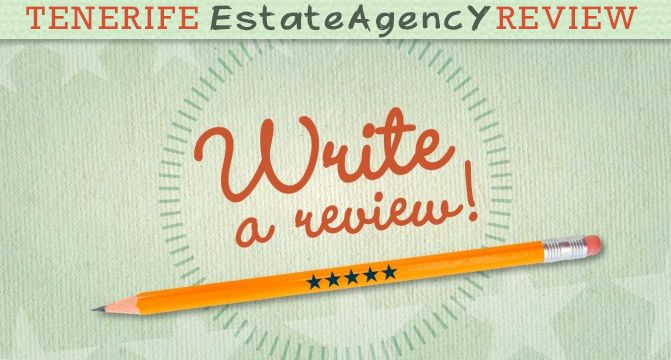 Independent individuals, just like you, who have completed an actual transaction, or dealt with an Estate Agency across Tenerife provides the reviews and ratings, making this an authentic review for all future clients. Please share with us your opinion and vote your personal experience with a certain company.