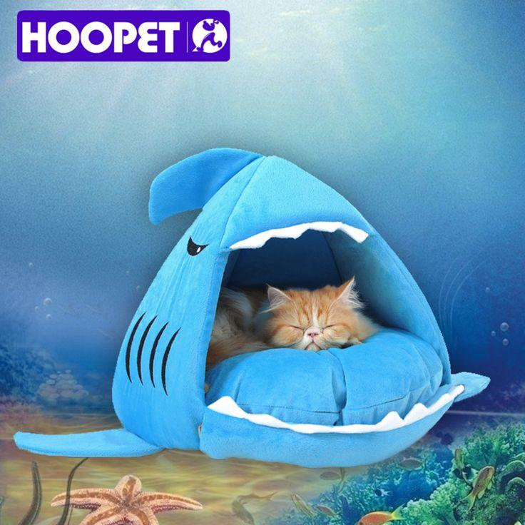 Теплые мягкие кошка дом зима домашних животных спальный мешок красивая акула собаки питомника кровать щенок маленький подушку дивана товары для животных # K купить на AliExpress