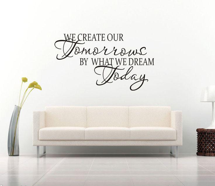 Dare to dream! We create our tomorrows by what we dream today. På feelhome erbjuder vi motiverande väggdekor online, och detta är inget undantag! Den enkla färgen gör att den lätt smälter in bland befintlig inredning.  Länk till produkt: http://www.feelhome.se/produkt/dare-to-dream/    #Homedecoration #art #interior #design #Walldecor #väggdekor #interiordesign #Vardagsrum #Kontor #Modernt #vägg #inredning #inredningstips #heminredning #citat #motivation #idag #dröm