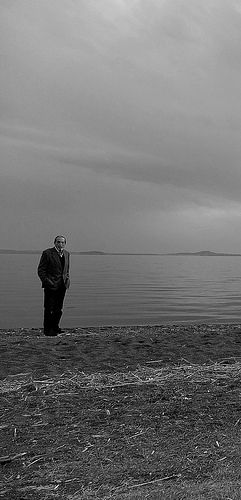 Solo un uomo - Bolsena Lake