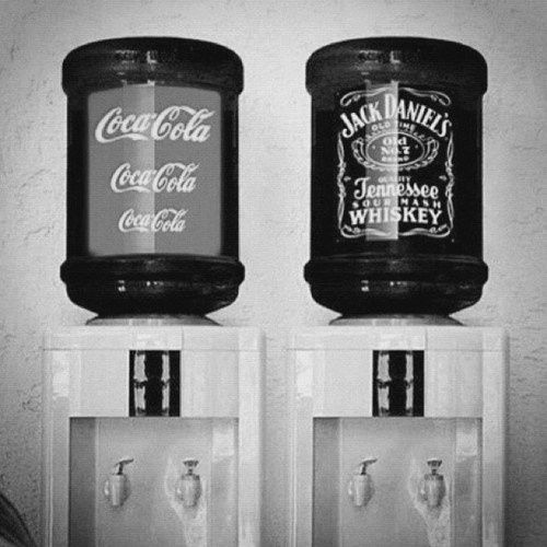 Coca-Cola + Jack Daniels Cooler... I prefer my jack with sprite.. but this is awesome..