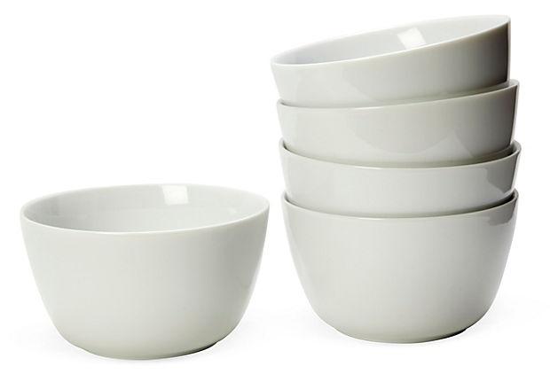 Modern Soup Bowls, Set of 5 on OneKingsLane.com