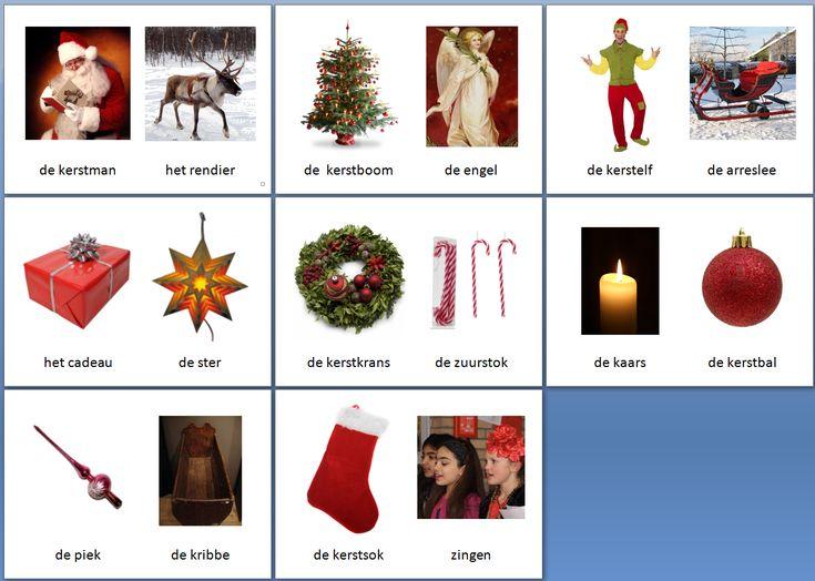 Themakaarten - kerstmis - klein