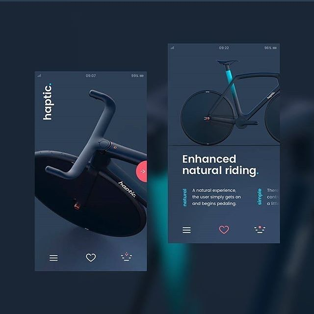 bike by Quinn Fitzgerald @andriusdesigner -- https://dribbble.com/shots/3946044-Tribute-to-a-haptic-bike ✨ Get Inspired daily! ✨ -- Follow along at @design.bot. -- Get featured! Tag your work with #designbot