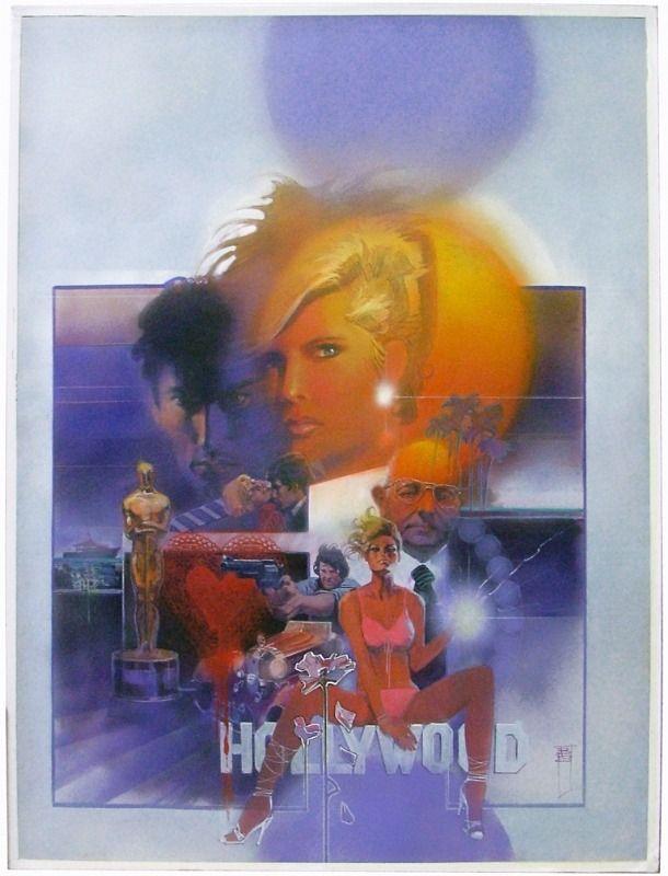 Marvel Graphic Novel #12: Dazzler the Movie by Bill Sienkiewicz (1984)