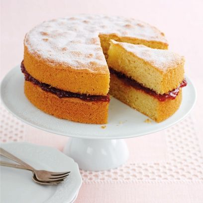 Mary Berry's Victoria sandwich cake is a classic, jam-filled masterpiece. For the full recipe and more, click on the picture or visit RedOnline.co.uk