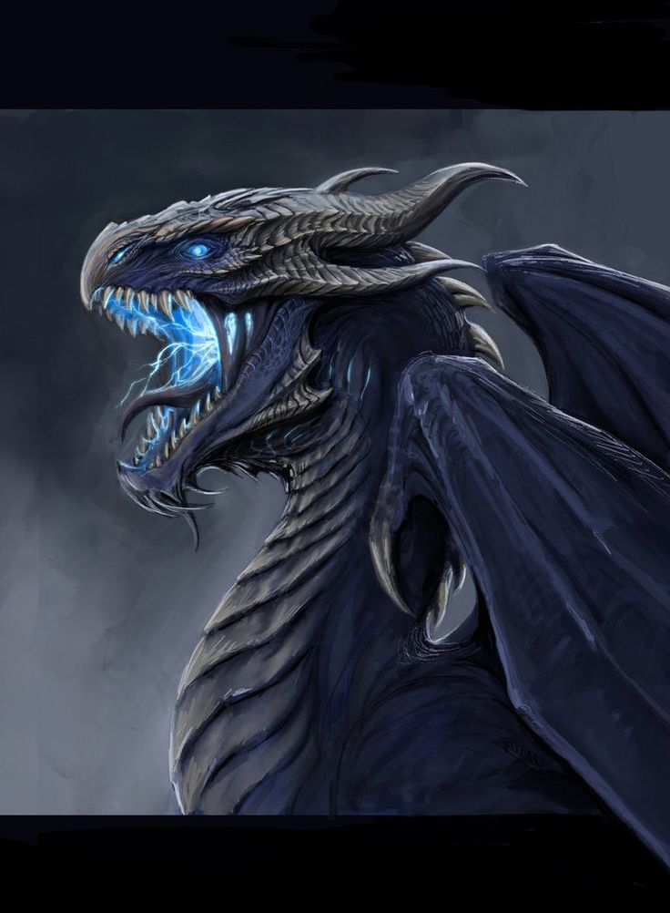 Storm Dragon by TatianaMakeeva on DeviantArt