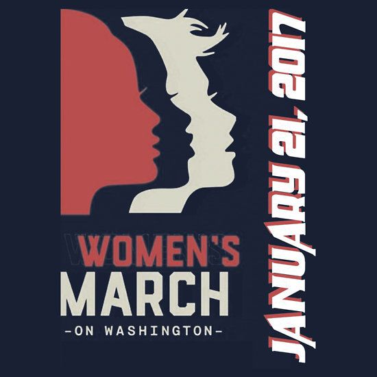 women march on January 21 2017
