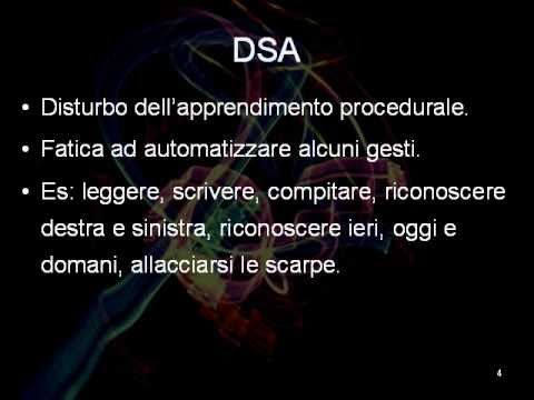 DSA - Disturbi Specifici dell'Apprendimento. (+playlist)
