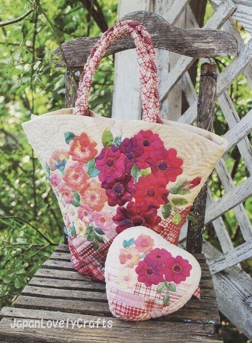 Kathy's Garden Quilt by Kathy Nakajima от JapanLovelyCrafts