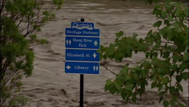 Calgary flooding forces evacuations, 100,000 may be affected