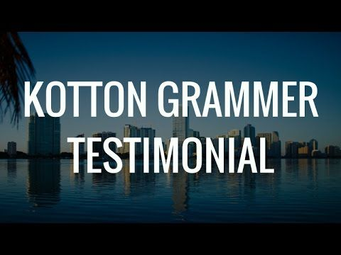 Kotton Grammer Testimonials | Kotton Grammer Reviews  Here it is; My my second Kotton Grammer Review Video. I feel like the first Kotton Grammer Testimonial Vid wasn't up to par.  If you're considering working with Kotton. Don't think twice just do.