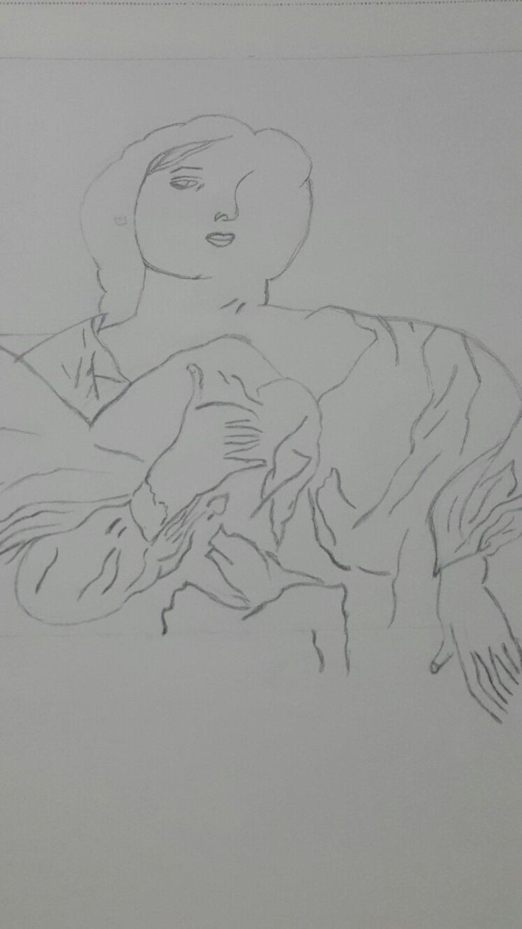 Karakalem çizim 2.asama