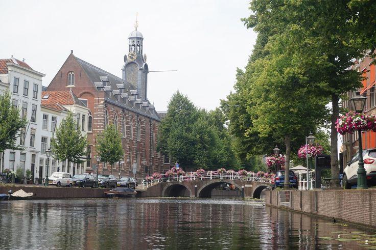 Leiden, The Netherlands...but first add some sunscreen!