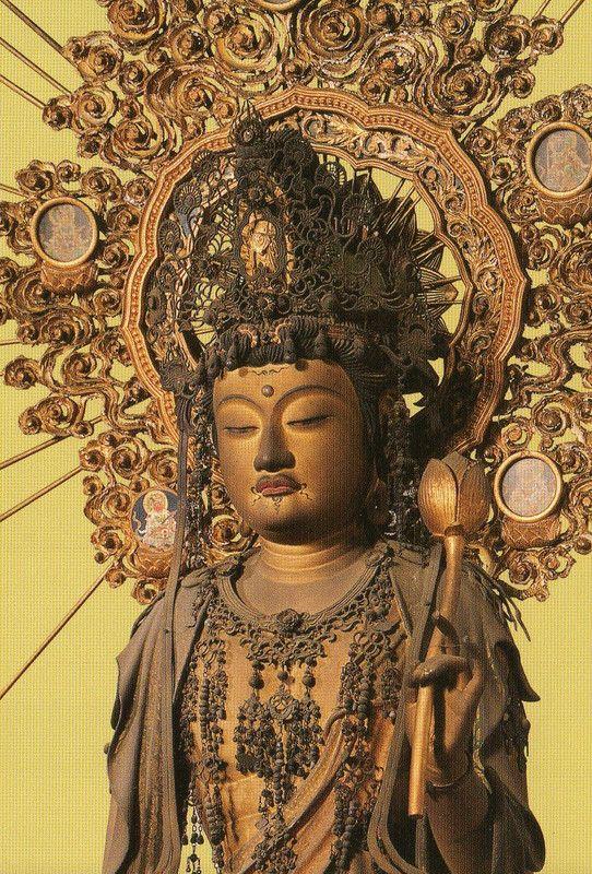 木造聖観音菩薩立像(興福寺)Avalokiteśvara [ Kōfuku-ji ] 1250
