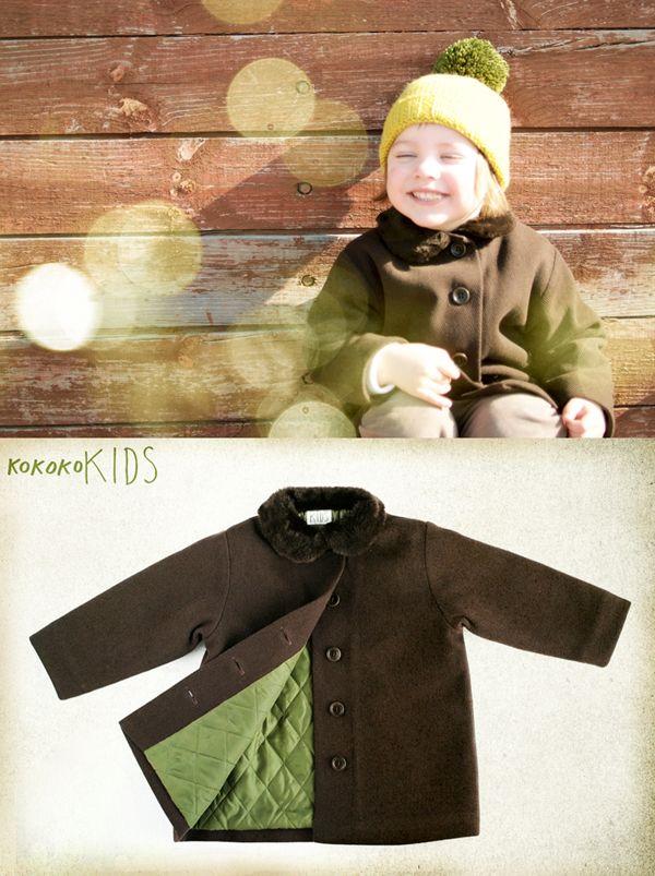 kokokoKIDS: Ko-ko-ko coat.