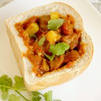 Bunny chow - South Africa's own street food - Cooksister