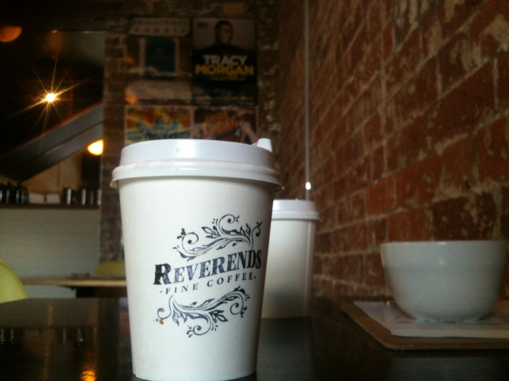 Another classy coffee place, the Reverends - Fortitude Valley, Brisbane Aus