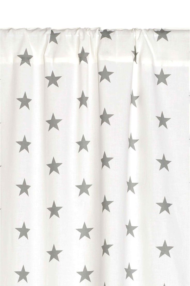 Patterned curtain length | H&M