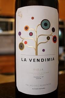 Palacios Remondo La Vendimia 2009 - Journey Through Rioja Wine #2. $12, read more...