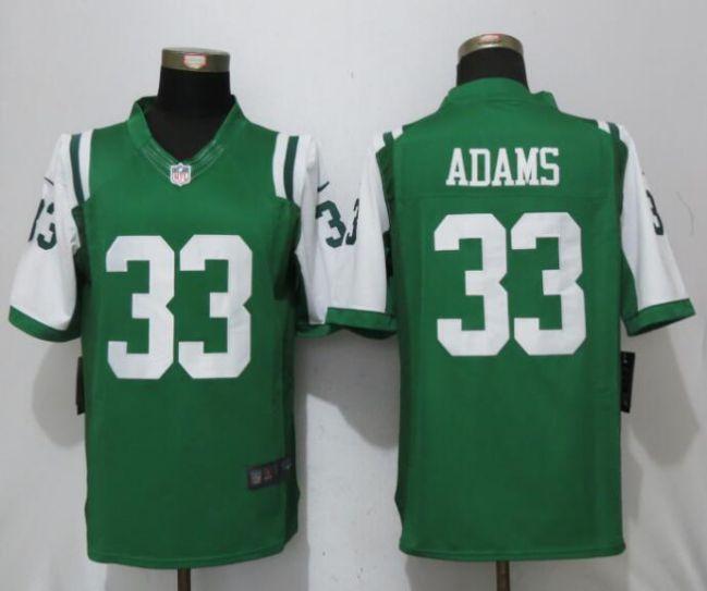 3f6c814b257 Men New York Jets 33 Adams Green Nike Limited NFL Jerseys | New York ...