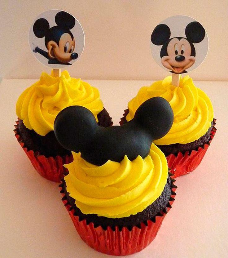 Cupcake do Mickey-3