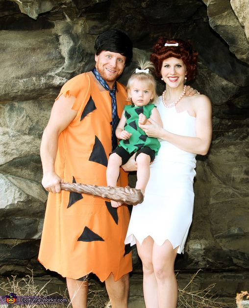 The Flintstones Family Costume