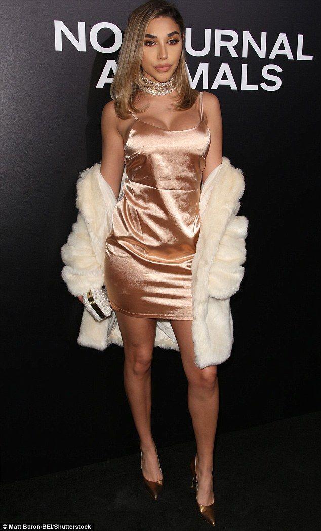 Kylie's Lip Kit: The model's makeup featured gold tones, a neutral-toned lipstick most li...